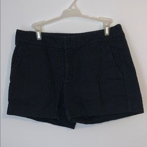 Navy Blue Textured Banana Republic Shorts